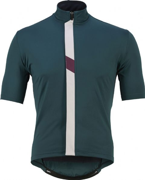 Café Du Cycliste Men's Josette Waterproof Jersey - Ivy Green